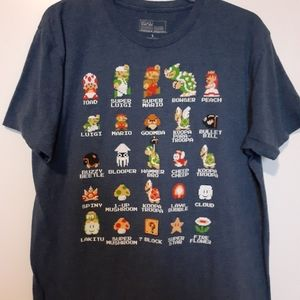 Other - Super Mario bros characters tshirt
